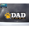 Image for DAD DECAL PAW