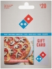 Image for DOMINO'S PIZZA $20 GIFT CARD