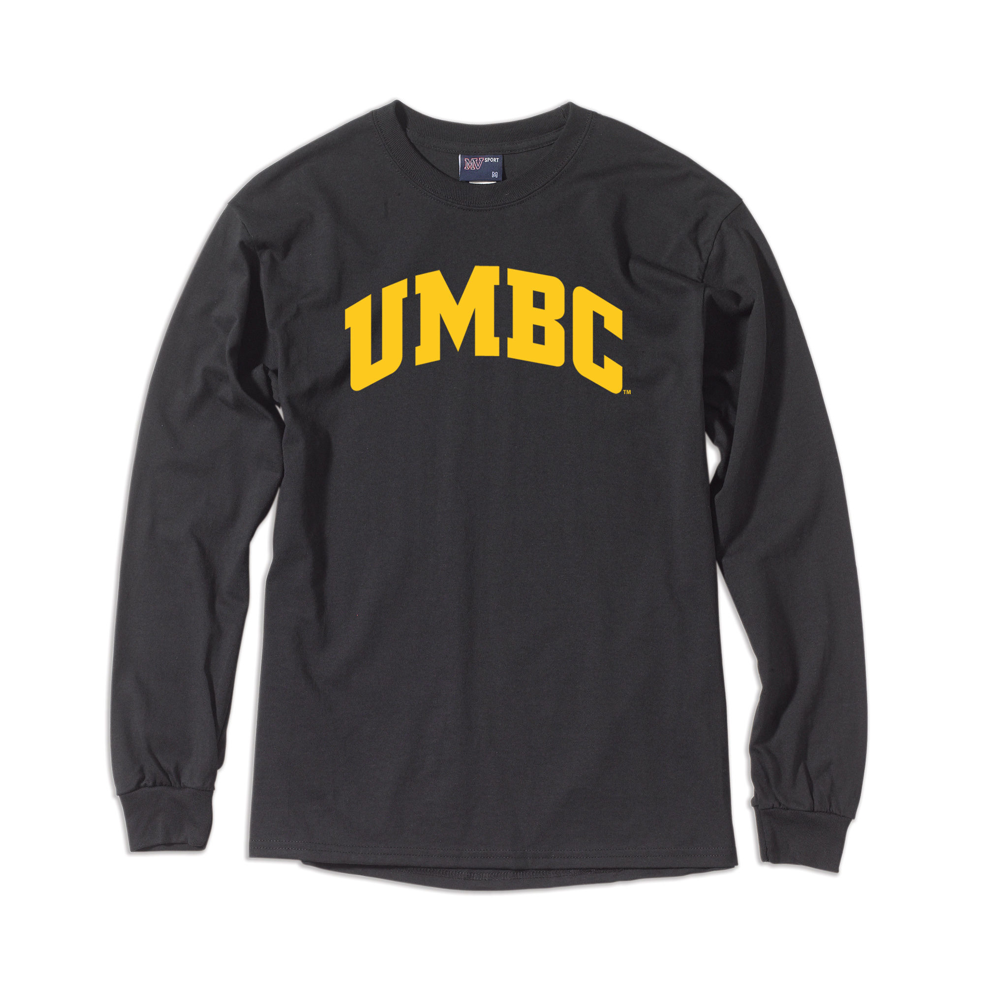 Cover Image For LONG SLEEVE T-SHIRT: BASIC BLACK AND GOLD